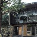 大銀杏の家(二世帯住宅)の写真 外観ディティール
