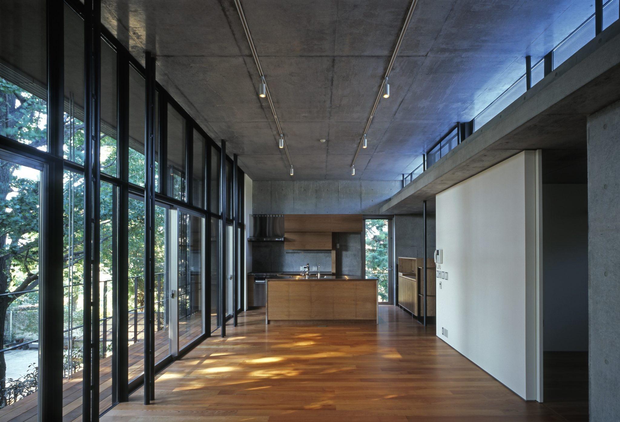 リビングダイニング事例:2階LDK(大銀杏の家(二世帯住宅))