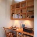 アトリエのある家~2人の好きなことを楽しむ家~の写真 デスクコーナー