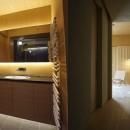 豊中の家の写真 豊中の家 洗面・廊下