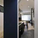 子どもの成長とともに変化できる家の写真 レイアウト自由 磁石素材の壁