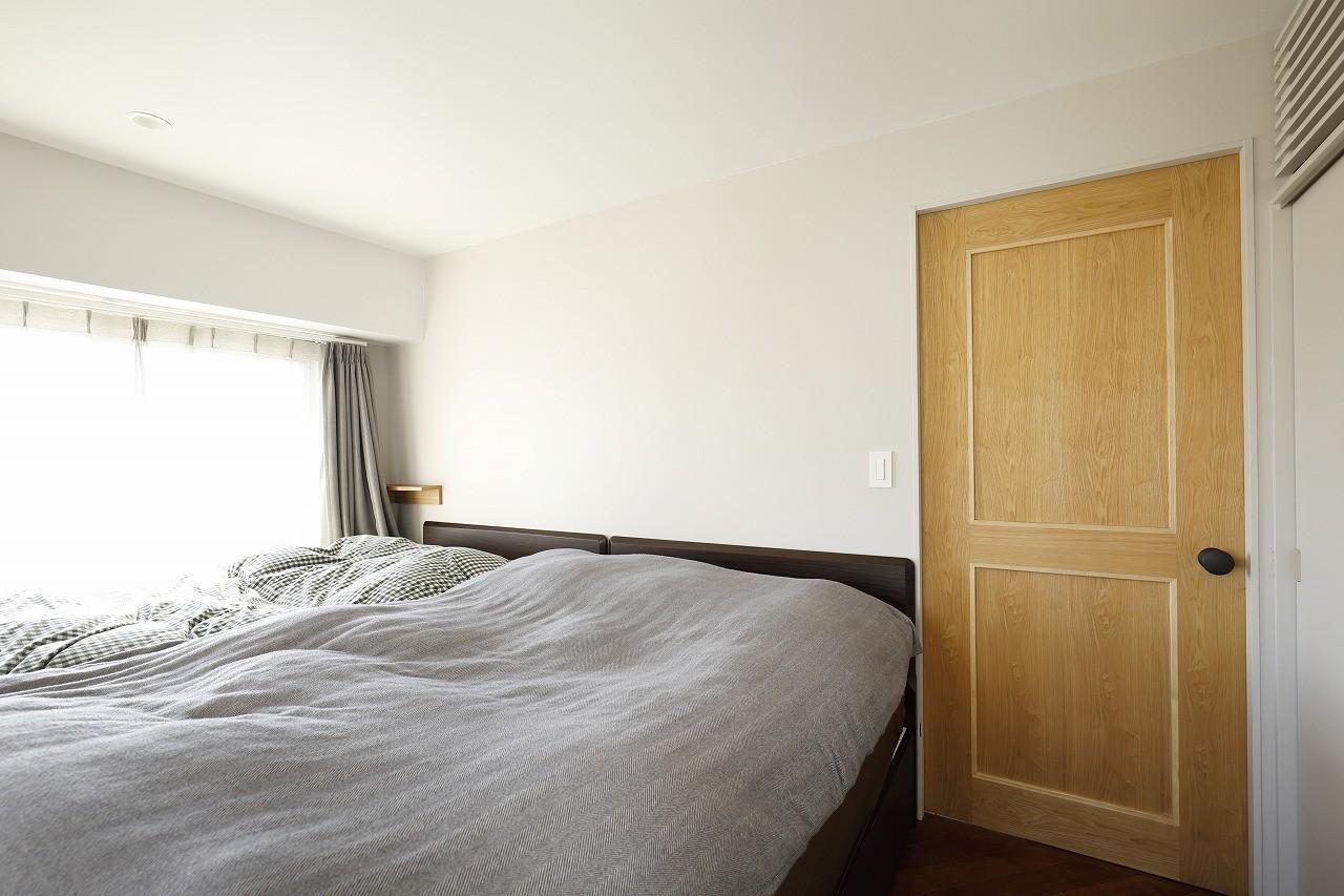 その他事例:寝室(デッドスペースのない家)