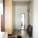 デッドスペースのない家の写真 玄関