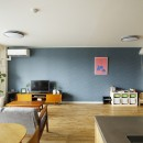 北欧インテリアのカフェハウスの写真 リビング