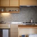 中古マンションのリノベーション~木の温もりのあるオーダーキッチンとオーダー家具~の写真 キッチン