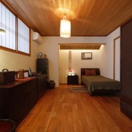 老後の暮らしのためのリノベーション~和室の寝室をベッドを置ける洋室に~