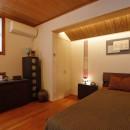 老後の暮らしのためのリノベーション~和室の寝室をベッドを置ける洋室に~の写真 寝室