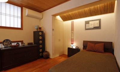 老後の暮らしのためのリノベーション~和室の寝室をベッドを置ける洋室に~ (寝室)