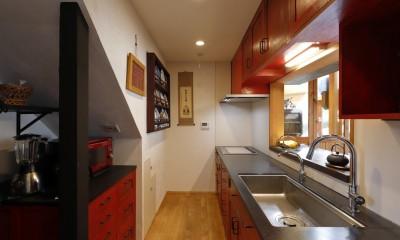 老後の暮らしのためのリノベーション~和室の寝室をベッドを置ける洋室に~ (キッチン)