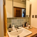 都筑 I邸 マンションリノベーションの写真 洗面室