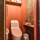 都筑 I邸 マンションリノベーションの写真 トイレ
