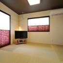バルコニーの家の写真 和室