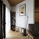Carpenter's houseの写真 斜めの壁の休憩スペース