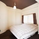 I様邸_昭和時代の喫茶店のようないえの写真 寝室