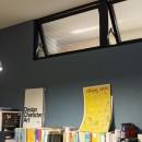 """""""好き""""を並べてすっきり暮らすの写真 室内窓がある書斎"""