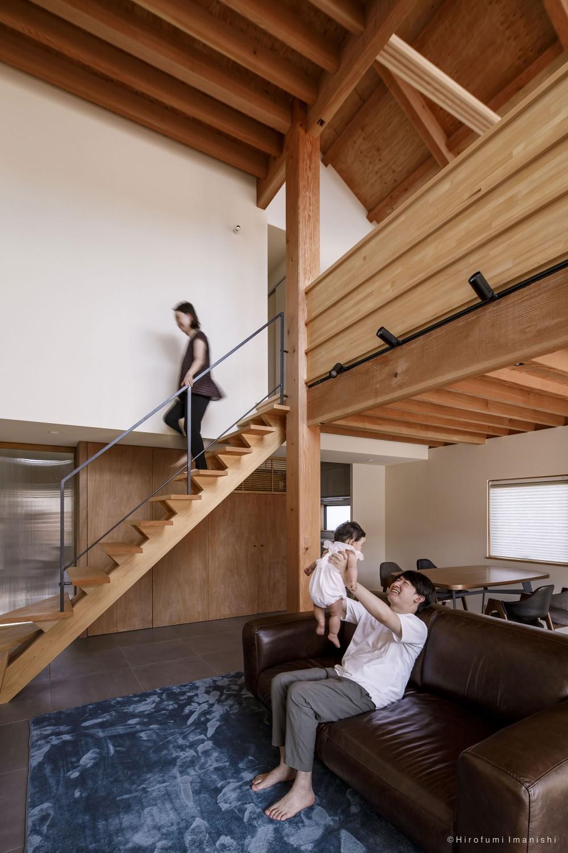 加古川の家 (リビング)