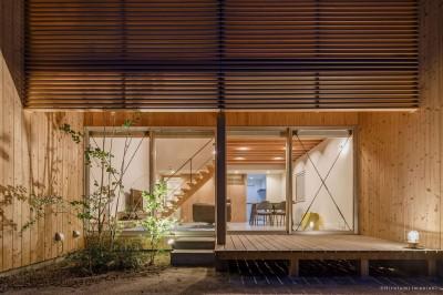 加古川の家 (デッキ)