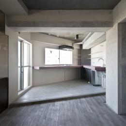 既存を活かした住宅兼レンタルスペース