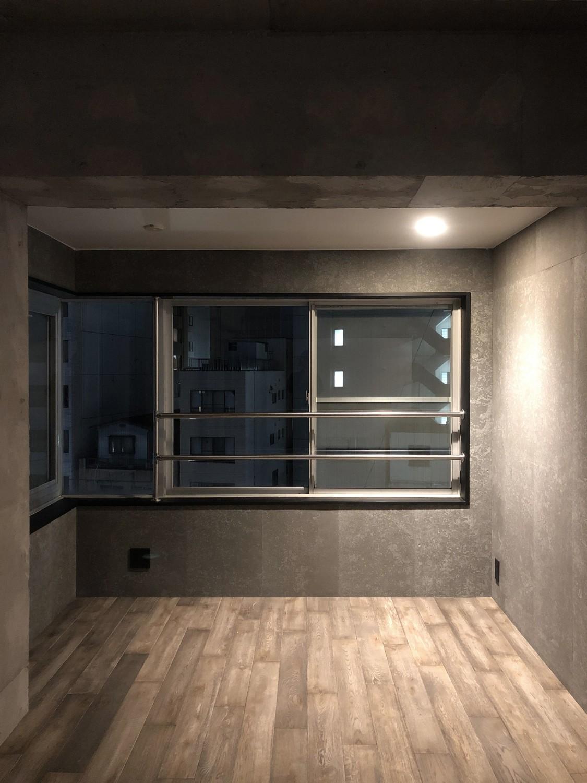 ベッドルーム事例:ベッドスペース(シックな大人のリノベ空間)