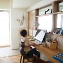 セルフビルドのマンションリフォームの写真 スタディコーナー