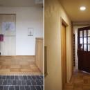 セルフビルドのマンションリフォームの写真 玄関と廊下