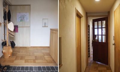 セルフビルドのマンションリフォーム (玄関と廊下)
