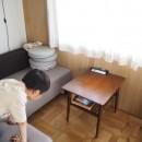 セルフビルドのマンションリフォームの写真 リビングダイニング