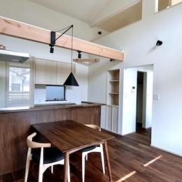 18坪の敷地にたつ収納たっぷりのコンパクトな家