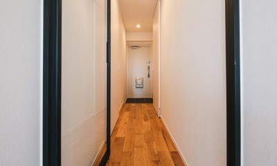 効率的なスペース活用 (廊下)