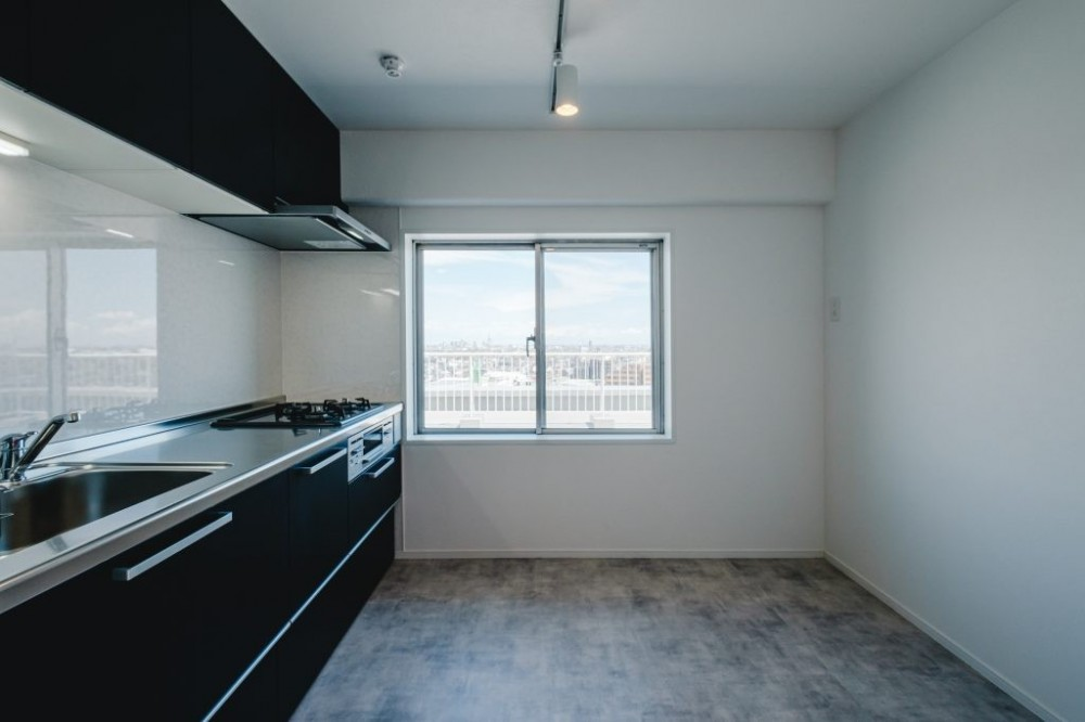 効率的なスペース活用 (キッチン)
