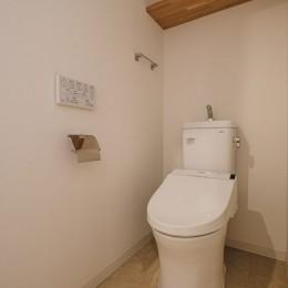 効率的なスペース活用 (トイレ)