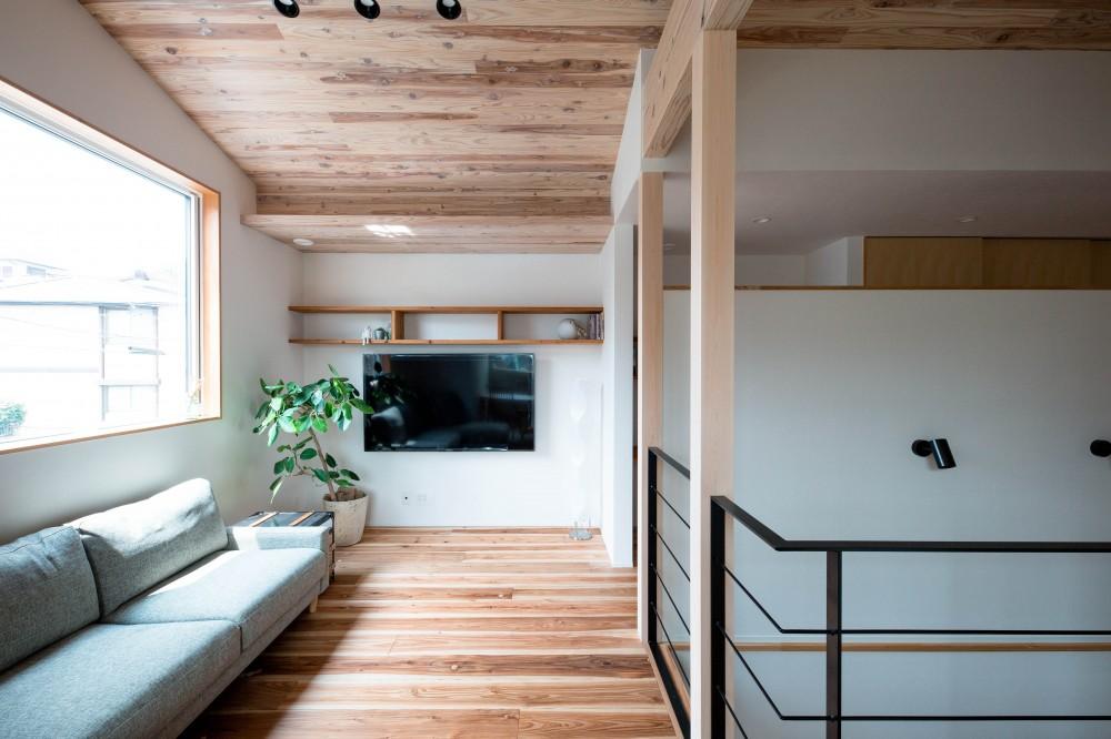 建築家とつくる自然素材の家 (リビング)