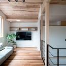 建築家とつくる自然素材の家の写真 リビング