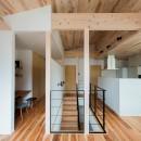 建築家とつくる自然素材の家の写真 2階ホール