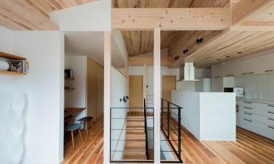建築家とつくる自然素材の家 (2階ホール)