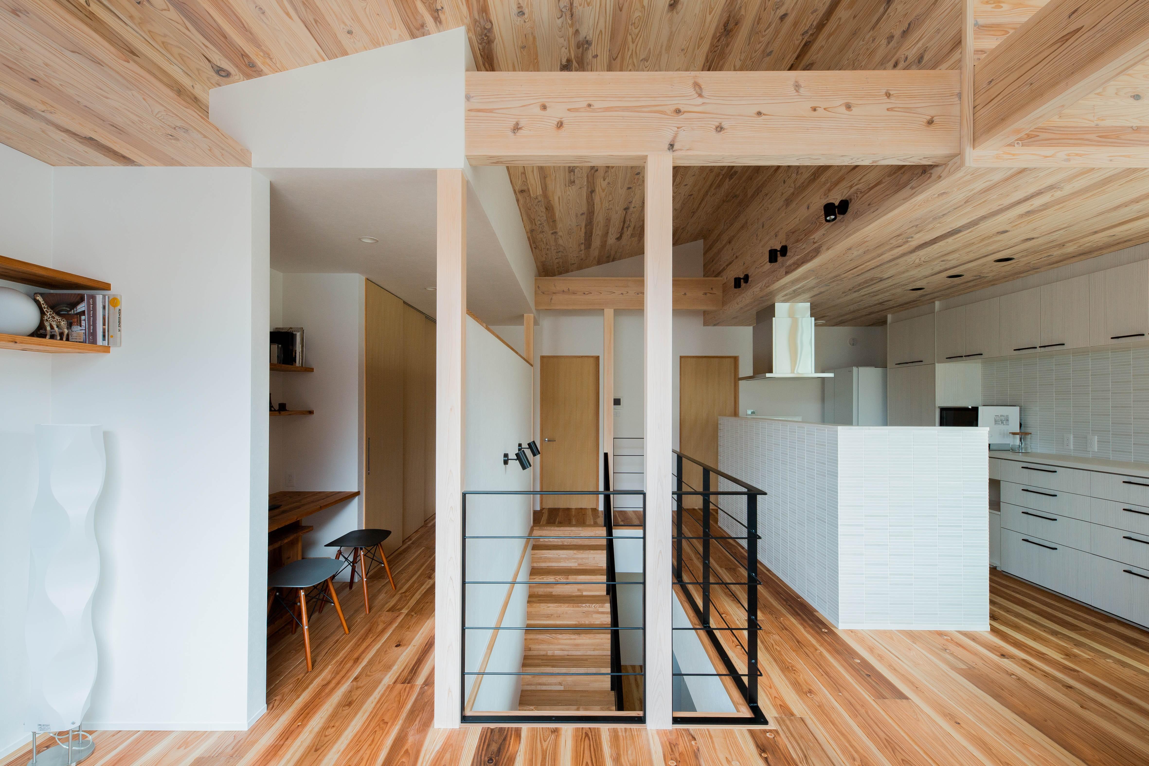 その他事例:2階ホール(建築家とつくる自然素材の家)
