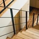 建築家とつくる自然素材の家の写真 階段