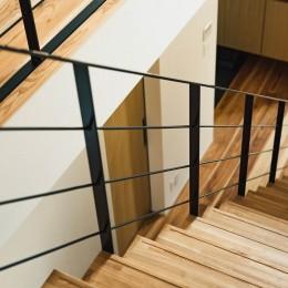 建築家とつくる自然素材の家 (階段)