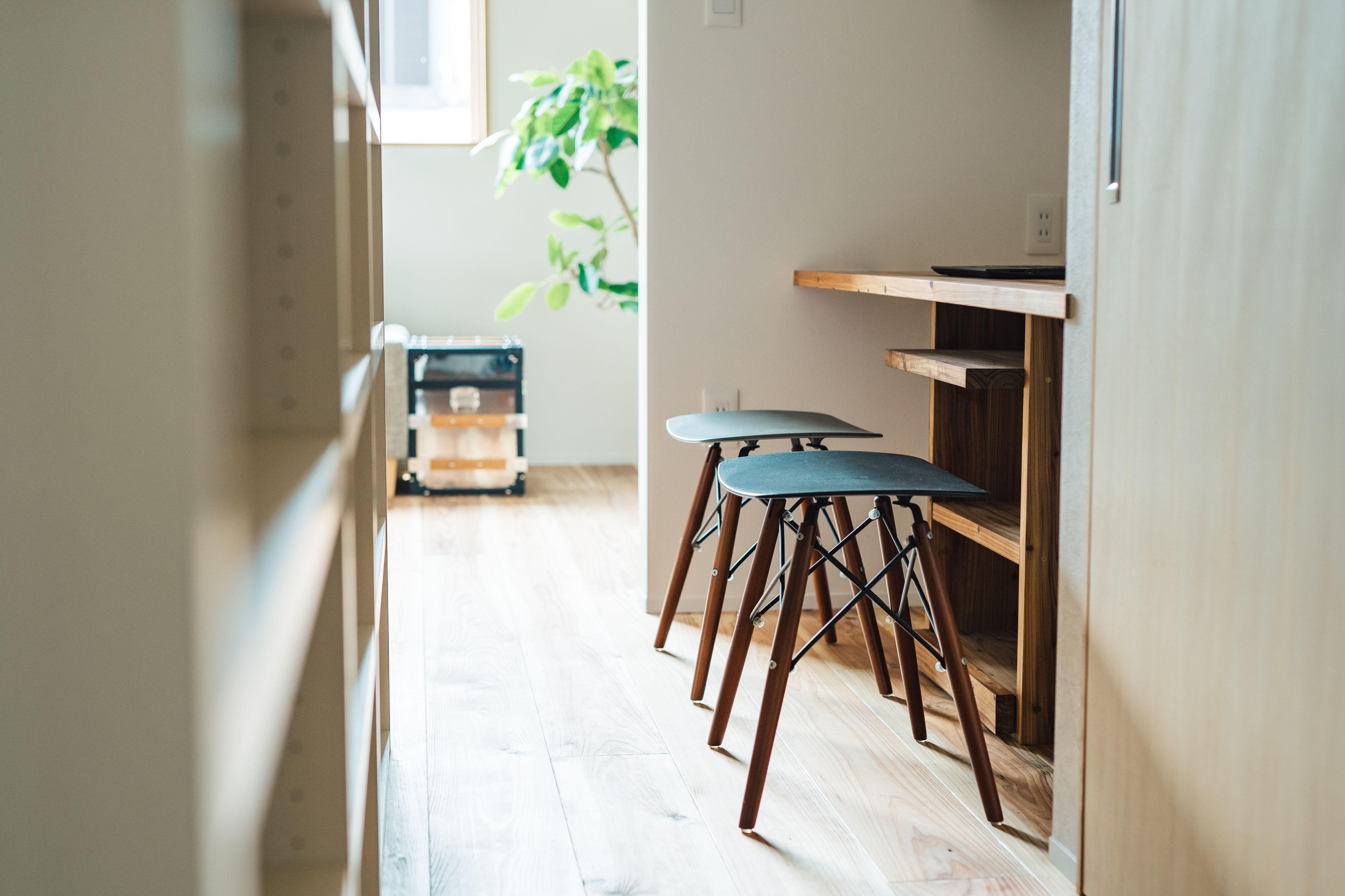 書斎事例:フリースペース(建築家とつくる自然素材の家)
