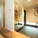 建築家とつくる自然素材の家の写真 玄関
