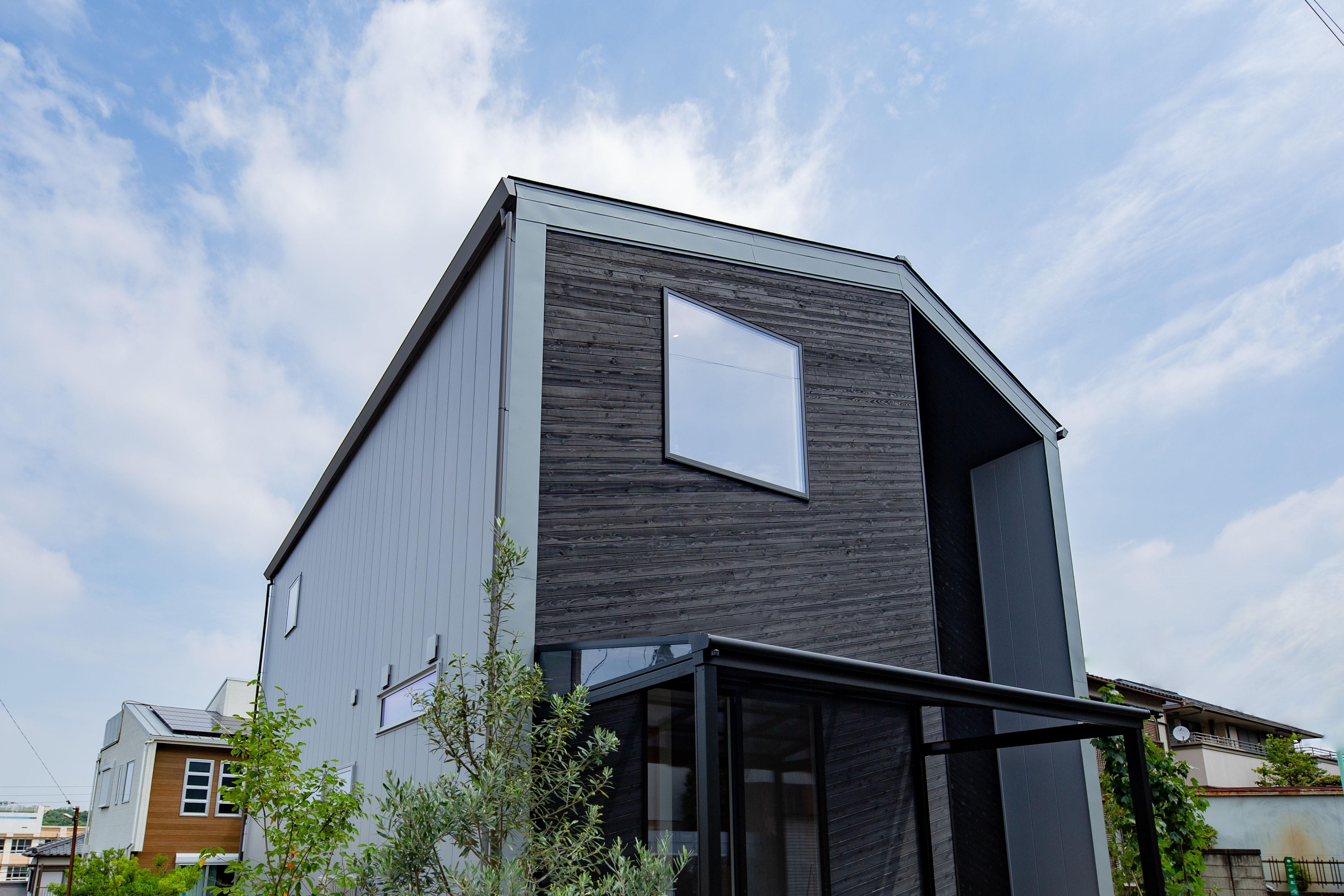 外観事例:外観(建築家とつくる自然素材の家)