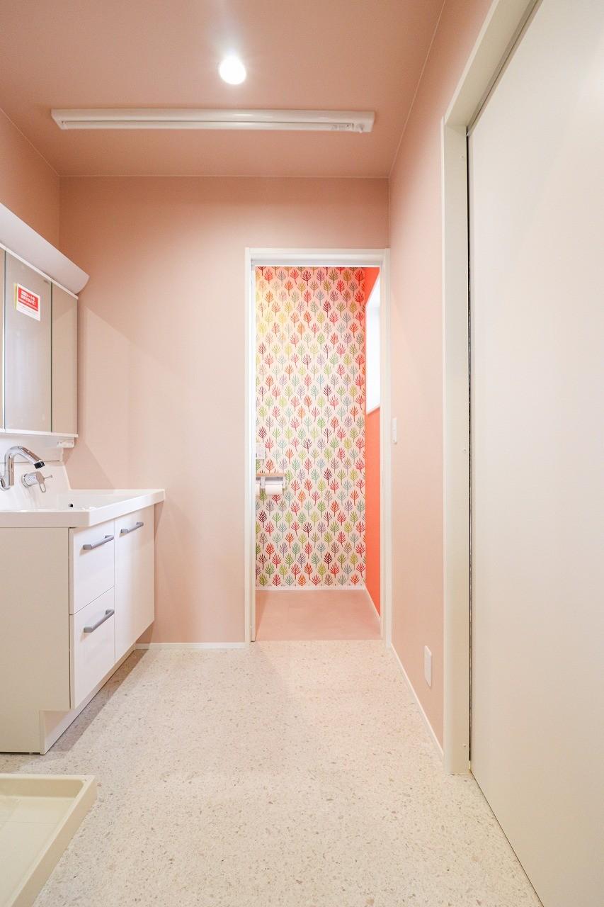 バス/トイレ事例:洗面室(S様邸~戸建てリノベーション~)
