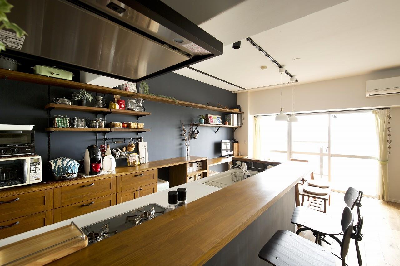 キッチン事例:キッチン(オトコマエイズム)