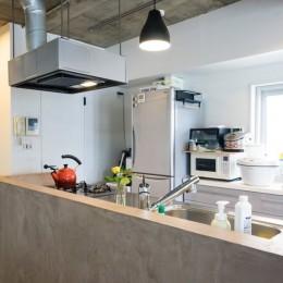 「キッチン」家族が集う多目的に活用できるLDK (家族が集う多目的に活用できるLDK)