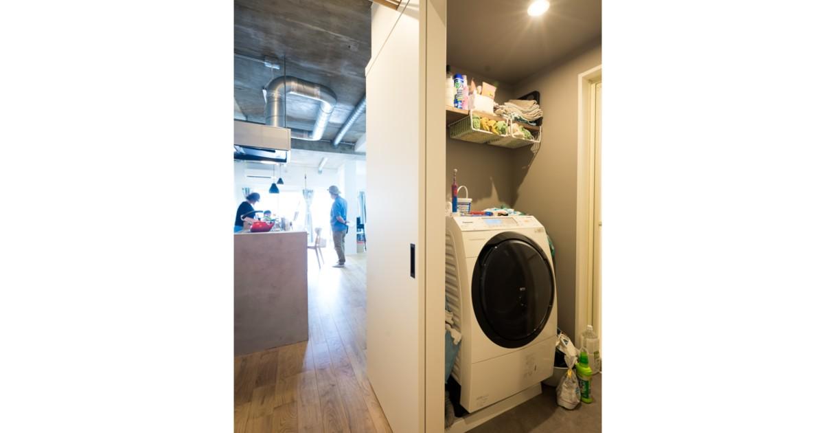 その他事例:「洗濯機置き場」家族が集う多目的に活用できるLDK(家族が集う多目的に活用できるLDK)