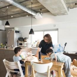 家族が集う多目的に活用できるLDK (「リビングダイニング」家族が集う多目的に活用できるLDK)