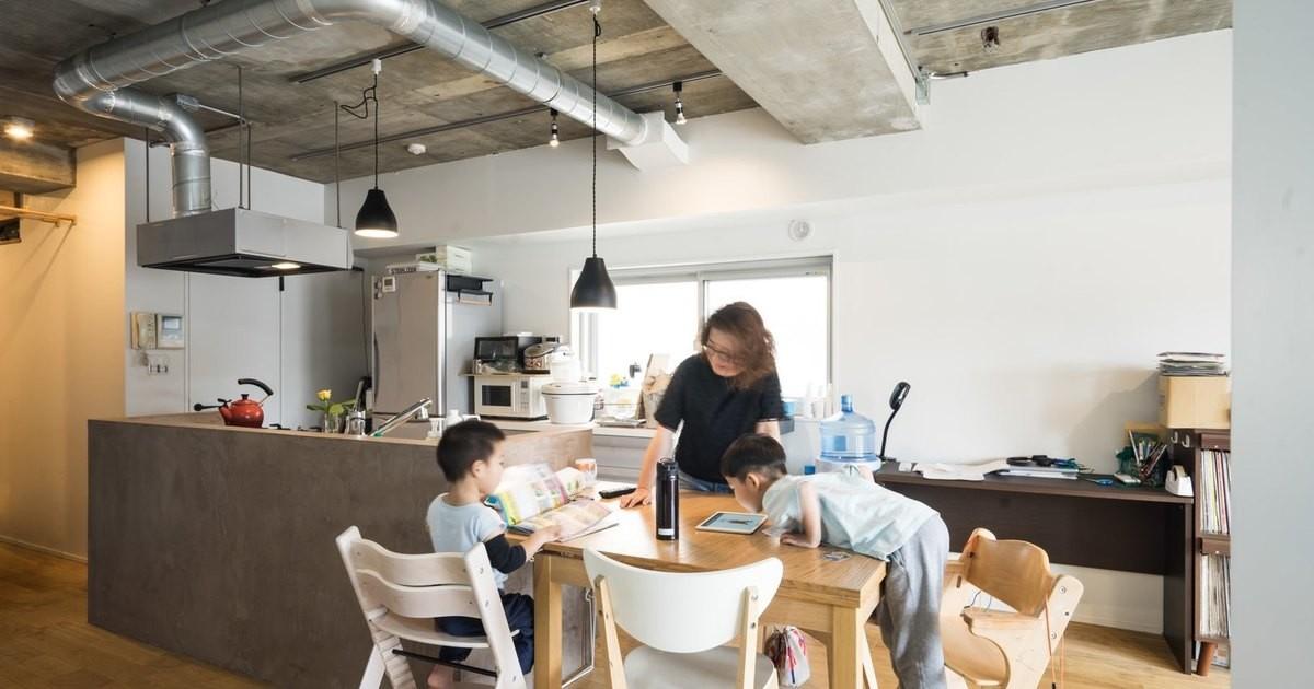 リビングダイニング事例:「リビングダイニング」家族が集う多目的に活用できるLDK(家族が集う多目的に活用できるLDK)
