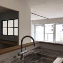 ワークスペースがあるナチュラルの開放的な空間の写真 キッチン