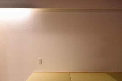 和室 (小上がりのある和モダンスタイルリノベーション)