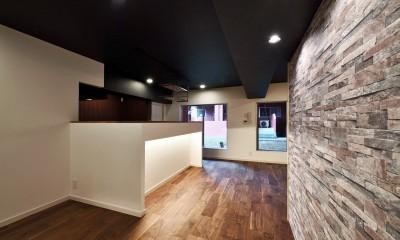 キッチン|小上がりのある和モダンスタイルリノベーション